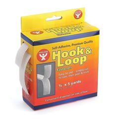 HYGLOSS PRODUCTS HOOK & LOOP FASTENER ROLL 3/4X5YD