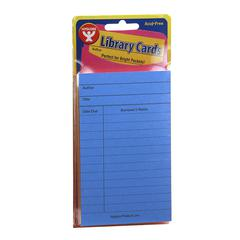 HYGLOSS PRODUCTS BRIGHT LIBRARY CARDS 500CT ASST COLORS