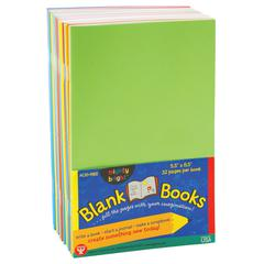 HYGLOSS PRODUCTS MIGHTY BRIGHTS BOOKS 5 1/2 X 8 1/2 32 PAGES 20 BOOKS ASSORTED COLORS