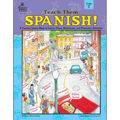 CARSON DELLOSA TEACH THEM SPANISH GR 2