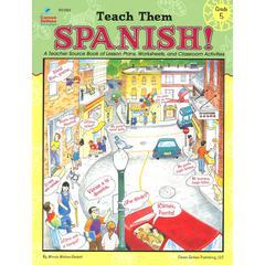 CARSON DELLOSA TEACH THEM SPANISH GR 5