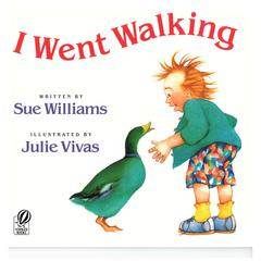 HOUGHTON MIFFLIN I WENT WALKING BIG BOOK