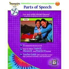 WORLD BOOK PARTS OF SPEECH INTERACTIVE GRAMMAR AND USAGE LESSONS
