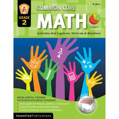 WORLD BOOK MATH GR 2 COMMON CORE REINFORCEMENT ACTIVITIES