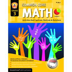 WORLD BOOK MATH GR 3 COMMON CORE REINFORCEMENT ACTIVITIES