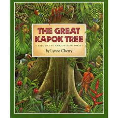 HOUGHTON MIFFLIN THE GREAT KAPOK TREE A TALE OF THE AMAZON RAIN FOREST BIG BOOK