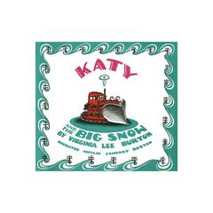 HOUGHTON MIFFLIN CARRY ALONG BOOK & CD KATY AND THE BIG SNOW