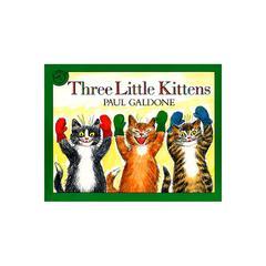 CARRY ALONG BOOK & CD THREE LITTLE KITTENS