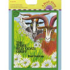 HOUGHTON MIFFLIN CARRY ALONG BOOK & CD THE THREE BILLY GOATS GRUFF