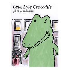HOUGHTON MIFFLIN CARRY ALONG BOOK CD LYLE LYLE CROCODILE
