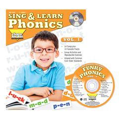 SING & LEARN PHONICS BOOK CD VOL 1