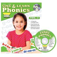 SARA JORDAN PUBLISHING SING & LEARN PHONICS BOOK CD VOL 2