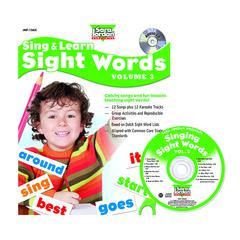 SARA JORDAN PUBLISHING SING & LEARN SIGHT WORDS BOOK CD 3