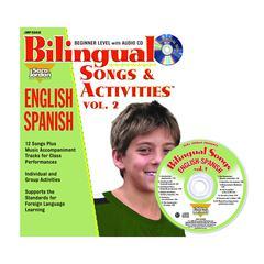 SARA JORDAN PUBLISHING BILINGUAL SONGS & ACTS BOOK CD VOL2
