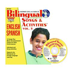 BILINGUAL SONGS & ACTS BOOK CD VOL3