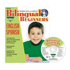 BILINGUAL SONGS & ACTIVITIES BOOK WITH CD BEGINNERS