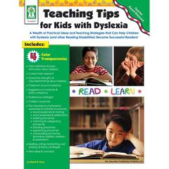 CARSON DELLOSA TEACHING TIPS FOR KIDS WITH DYSLEXIA BOOK