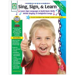 CARSON DELLOSA SING SIGN & LEARN