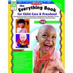 CARSON DELLOSA THE EVERYTHING BOOK FOR CHILD CARE & PRESCHOOL