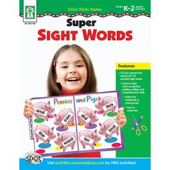 COLOR PHOTO GAMES SUPER SIGHT WORDS