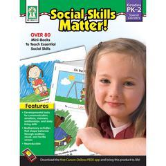 SOCIAL SKILLS MATTER BOOKS GR PK-2