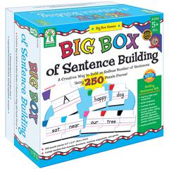 CARSON DELLOSA BIG BOX OF SENTENCE BUILDING GAME AGE 5+