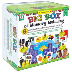 BIG BOX OF MEMORY MATCH GAMES AGE 3+ SPECIAL EDUCATION