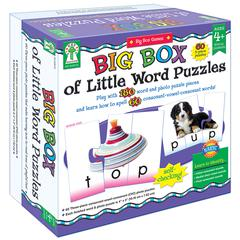CARSON DELLOSA BIG BOX OF LITTLE WORD PUZZLES