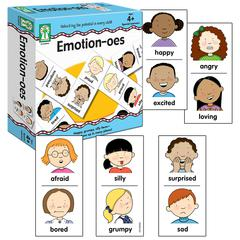 CARSON DELLOSA EMOTION-OES GAMES AGES 4 & UP