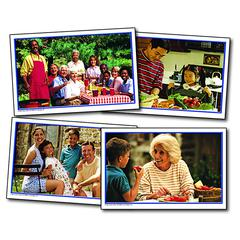CARSON DELLOSA PHOTOGRAPHIC LEARNING CARDS FAMILIES