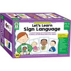 SIGN LANGUAGE WT CARDS