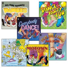 KIMBO EDUCATIONAL EVERYBODY DANCE CD COLLECTION