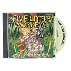 KIMBO EDUCATIONAL FIVE LITTLE MONKEYS CD