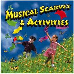 KIMBO EDUCATIONAL MUSICAL SCARVES & ACTIVITIES CD AGES 3-8