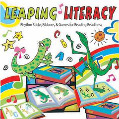 KIMBO EDUCATIONAL LEAPING LITERACY RHYTHM STICKS RIBBONS & GAMES CD