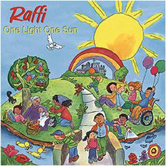 KIMBO EDUCATIONAL ONE LIGHT ONE SUN CD RAFFI