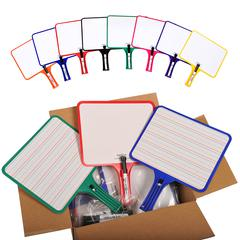 KLEENSLATE CONCEPTS RECTANGULAR PADDLES DOUBLE SIDED 32 BLANK HANDWRITING