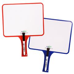 KLEENSLATE CONCEPTS KLEENSLATE DRY ERASE PADDLES 2PK RECTANGULAR SET