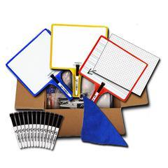 KLEENSLATE DRY ERASE BOARD 12PK SYSTEM STANDARD CLASSROOM PACK