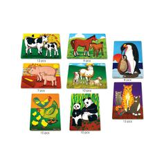 MELISSA & DOUG MOTHERS AND BABY ANIMALS PUZZLE SET