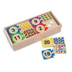 MELISSA & DOUG SELF CORRECTING NUMBER PUZZLES