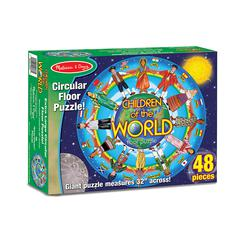 CHILDREN OF THE WORLD FLOOR PUZZLE