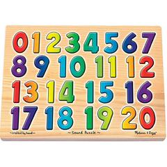 MELISSA & DOUG SOUND PUZZLES NUMBERS