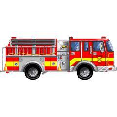 FLOOR PUZZLE GIANT FIRE TRUCK