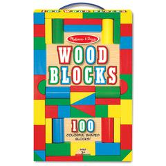 PAINTED UNIT BLOCK SETS 100-PC SET