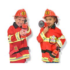 MELISSA & DOUG ROLE PLAY FIRE CHIEF COSTUME SET