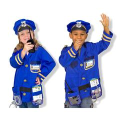 MELISSA & DOUG POLICE OFFICER COSTUME SET
