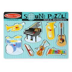 MELISSA & DOUG MUSICAL INTRUMENTS SOUND PUZZLE