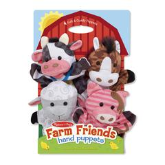 FARM FRIENDS HAND PUPPETS