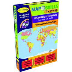 LORENZ / MILLIKEN MAP SKILLS THE WORLD INTERACTIVE WHITEBOARD SOFTWARE